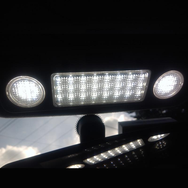 Светодиодный потолочный светильник на крышу, автомобильный светильник для чтения, автомобильные внутренние лампочки, подключи и работай, подходят для BMW E39 M5 98-03 E38, 1 штука