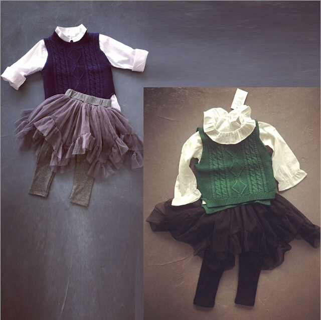 baby girls tulle skirts pants kids leggings ruffles culottes ruched pettiskirt korean style clothing