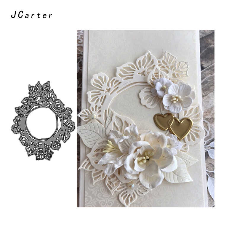 JC Metal Cutting Dies for Scrapbooking Dies Cut Craft Stencil Frame Background Handmade Cards Making Model Template Decoration
