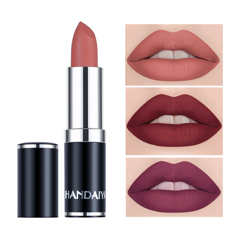 12 Colors New Nude Lipstick Matte Long Lasting Makeups For -3424