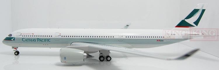 Eagle 100005 Hongkong Pacific Cathay B-EAA 1:200 A350-900 commercial jetliners plane model hobby