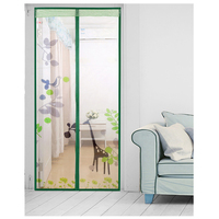 Magnetic Stripe Summer Anti Mosquito Curtains Encryption Mosquito Net On the Door Magnets Screen Door Curtain
