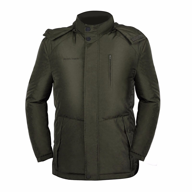 Free shipping olive green navy blue outdoor windproof hooded hunting heated jacket for men 1kilos 35 2oz olive leaf extract 20% oleuropein powder free shipping