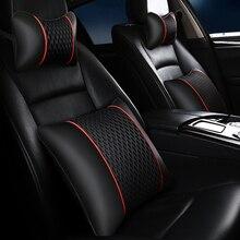 Brand new auto poggiatesta in pelle cuscino universale comodo collo cuscini fit per la maggior parte delle automobili di garanzia di qualità