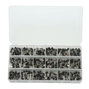 Image 3 - Горячая Распродажа 900 шт. 18 значений биполярный Триод Транзистор TO 92 коробка комплект A1015   2N5551 Оптовая цена новейший DIY светодиодный Комплект Новое поступление