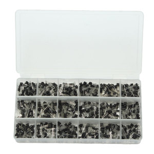 Image 3 - Bán Hot 900 Cái 18 Giá Trị Lưỡng Cực Triode Transistor TO Box Kit A1015 2N5551 Giá Bán Buôn Mới Nhất DIY Led Kit Mới Đến