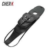 Cherk Motorcycle Black Leather Tank Chap Cover Panel Pad Bib Bra Bag For Harley Davidson 883 1200 XL Sportster Motorcycle Parts