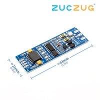 ADUM5403 RS485 к ttl модуль ttl к RS485 преобразователь сигнала 3 V 5,5 V изолированных один чип последовательный порт UART Модуль промышленного образца