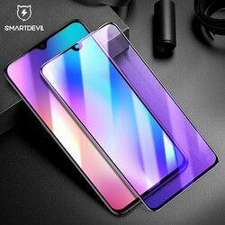 SmartDevil szkło hartowane dla Xiao mi mi 9 telefon folia ochronna na ekran o wysokiej rozdzielczości blokujące niebieskie światło chronić oczy folia wierzchnia
