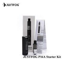 Original Justfog P16A Kit Vape Pen Mini Kit with 900mAh Battery Built-in Anti-spit protection E-cigarette kit vs justfog Q16 kit