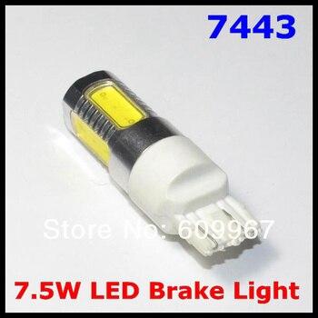 Wholesale  New 10pcs/lot 7.5W T20 7443 7440 led Car light Tail Led Bulb Light Free Shipping