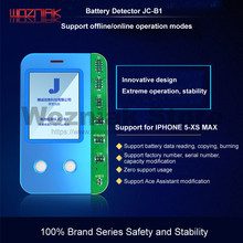 WOZNIAK JC B1 סוללה בדיקות תיבת עבור iPhone 5S 6 7 8 X XS מקסימום סוללה מצב חיים קיבולת ביצועים הבדיקה ובדיקה