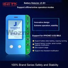 WOZNIAK JC B1 แบตเตอรี่การทดสอบกล่องสำหรับ iPhone 5S 6 7 8 X XS MAX สภาพแบตเตอรี่ Life ความจุประสิทธิภาพการตรวจสอบและการทดสอบ