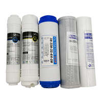 Huntsky Household Water Purifier 5 Stage 10 Water Filter Cartridge PP UDF CTO UF T33 Ultrafiltration