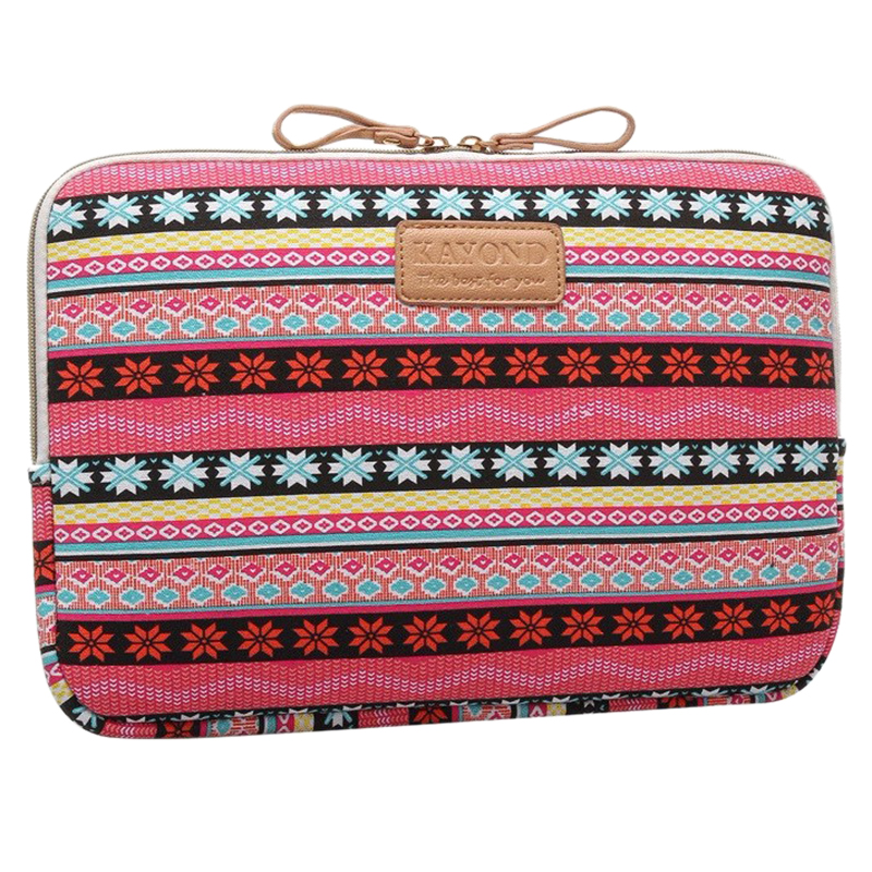 KAYOND Laptop Sleeve Case 13 inch Computer Bag, Notebook,For ipad,Tablet,For MacBook(Red Snowflake)