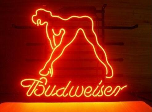 Custom Made Live Nudes bud Glass Neon Light Sign Beer Bar