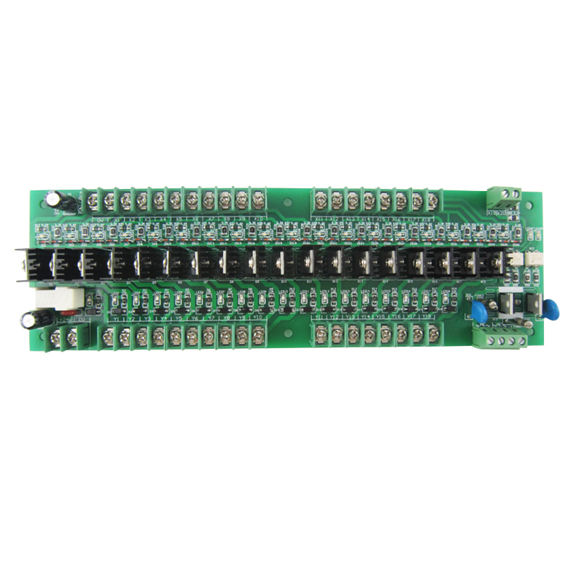 20 way PLC transistor output power amplifier board, high current, 2 way AC 18 channel DC