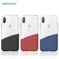 NILLKIN Soft Case For IPhone X Ultra Thin Transparent TPU Leather Case Cover Phone Back Protector