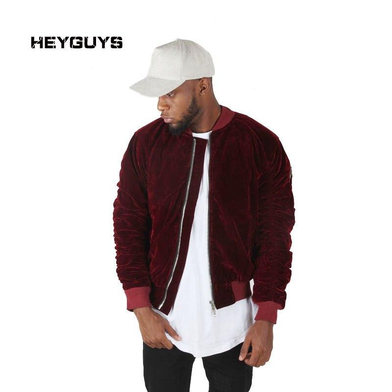 HEYGUYS 2018 warm high Europe street jacket Hip Hop Suit Pullover Winter Jacket Men Coat fashion mens windbreaker