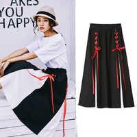 Hoge Taille Zomer Rok Vrouwen Lange Plus Size Harajuku Streetwear Vintage Rok Rok Koreaanse Fashion Roupas Rokken Womens 50H0170