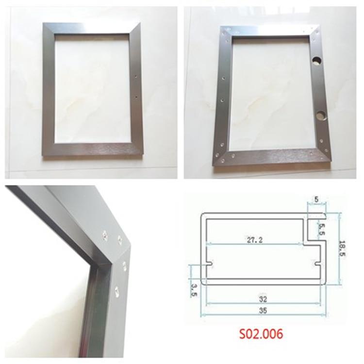 Aliexpress Buy Uke Square Anodized Aluminum Frame For Kitchen