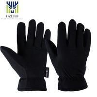 New Winter Ski Gloves Outdoor Sport Warm Gloves Deerskin Waterproof Below Zero Skiing Cycling For Men