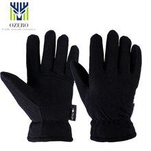New Winter Ski Gloves Outdoor Sport Warm Gloves Deerskin waterproof Below Zero Skiing Cycling For Men Women 9009