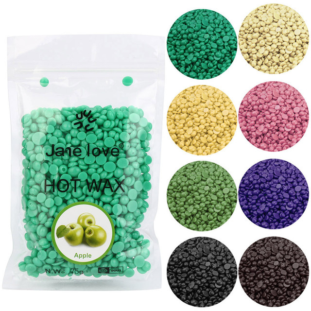 No Strip Depilatory Hot Film Hard Wax Pellet Waxing Bikini Hair Removal Bean Depilacion Bean More Colors For Women Men wholesale