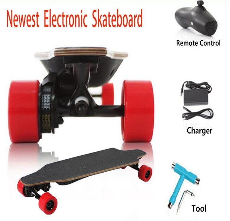 New Fashion 1200W 22 Mph Hill Grade Cruise Control Electric Skateboard Longboard Wireless Remote