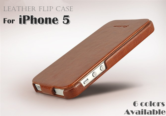 iphone 5 leather case new arrival leather for iphone 5 high quality flip 14536