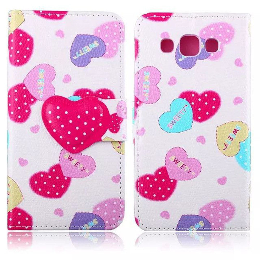 font b Funny b font Cute Sweet Fashion Wallet Flip Style PU Leather Case For