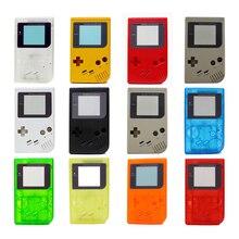 11 الألوان المتاحة لعبة استبدال كيس من البلاستيك قذيفة غطاء لنينتندو GB ل Gameboy وحدة التحكم الكلاسيكية الإسكان