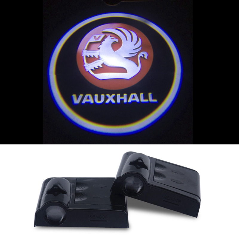 2pcs LED Logo Projector For Opel Vauxhall Insignia Vectra