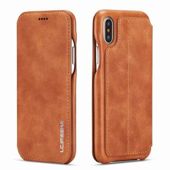 Leather Wallet Case iPhone Xs Max