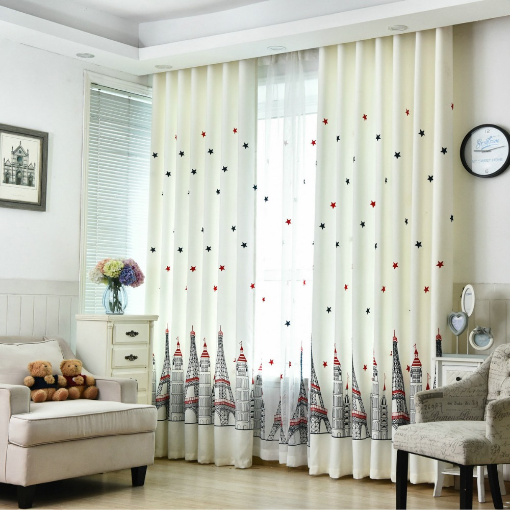 Aliexpress.com : Buy Window Curtains for Kids Living Room Bedroom ...