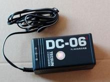 Adaptador de tomada DC 06 ac 220v/50hz dc 6v, adaptador de carregador de energia 300ma eua plug para tecsun pl600 pl660 PL 680