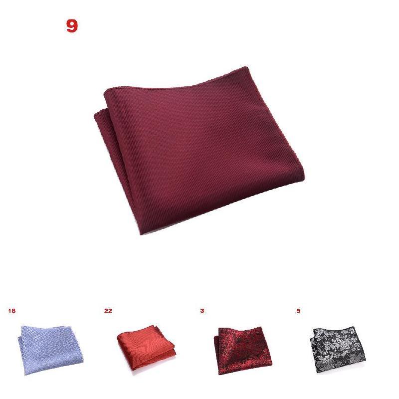 2019 British Retro Suit Pocket Square Hot Vintage Men British  Pocket Square Handkerchief Chest Towel Suit Accessories HD88