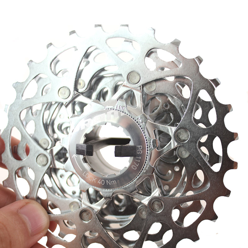 ФОТО SRAM PG-1170 11-28T 11S Speed Professional Cassette Free Wheel Bicycle Derailleur System Road Bike Parts