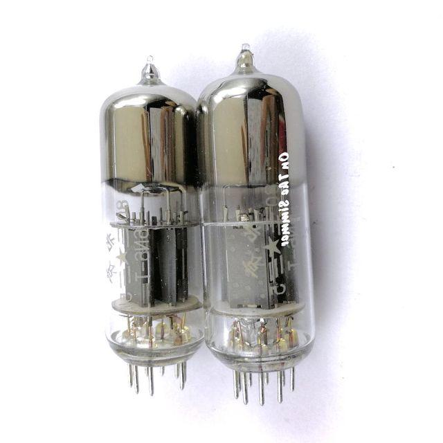 صندوق أصلي جديد بكين 6N6 أنبوب توليد 6H6n 12BH7 E182CC 6n6 أنبوب الاقتران