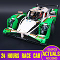 LEPIN 20003 The 24 hours Race Car Building Assembled Blocks Bricks Enlighten Toys Compatible Technic Series with 42039