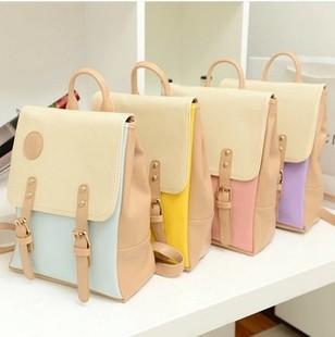 RanHuang Neue Frauen Pu Leder Rucksack Korean Style Fashion Schultaschen Für Mädchen Damen Vintage Rucksäcke Mochila Feminina A054
