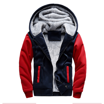ASALI Bomber Jacket Men 2018 New Brand Winter Thick Warm Fleece Zipper Coat for Mens SportWear Tracksuit Male European Hoodies 1