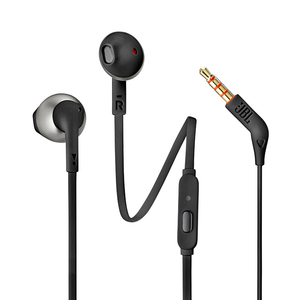 Image 5 - JBL T205 3,5mm Wired Kopfhörer Spiel Musik Sport Kopfhörer Hände freies mit Mic Für iPhone Android Smartphone Ohr handys fone