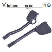 2017 Tideace UD Black Full Carbon Rest Handlebar TT Handlebar 31 8 270mm TT Bar 270mm