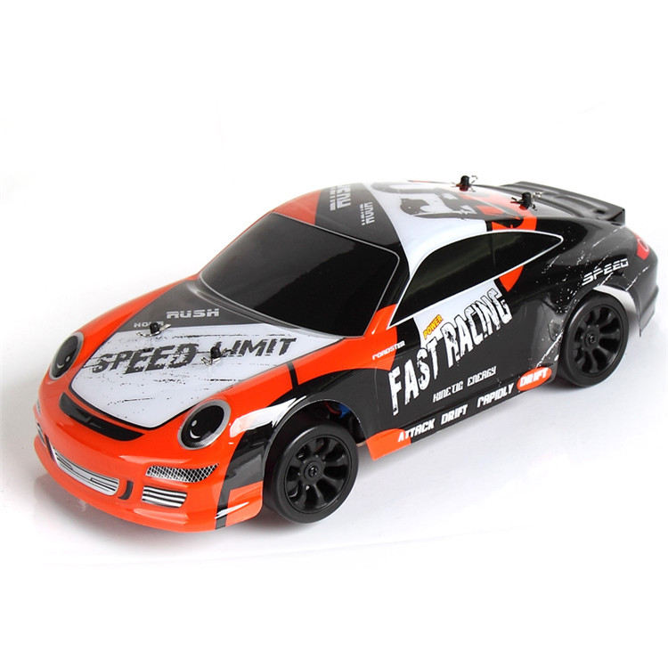 40km/h 1:24 electric four-wheel drive remote control high-speed car 2.4G remote control speed desert cross-country RC drift car remote control mini size electric 1 24 high speed 4 wheel drive rc drift speed race car with lights