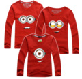 New O-neck Christmas Matching Outfits Mother Father Son Cotton Long-sleeve Mother Daughter Outfits T Shirt For Family AF-1735
