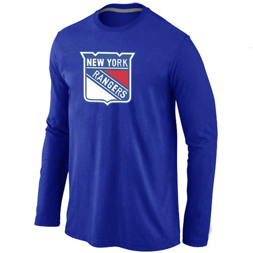 NHL New York Rangers Big & Tall Logo blue Long Sleeve T-Shirt