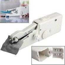 Мини Портативный Швейные машины стежка шить рукоделие беспроводные одежда ткани электрические швейные DIY машинная строчка комплект