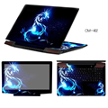 Fashion Laptop Stickers Waterproof PVC Decal Skin ABC Sides+Keys+Key Interstice Stickers For Lenovo Yoga 2 Pro Free Cutting Case