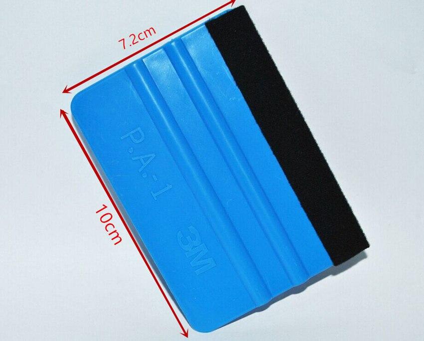 Blue Squeegee Felt Edge Scraper Car Decals Vinyl Wrapping /& Tint Tools 10Pcs